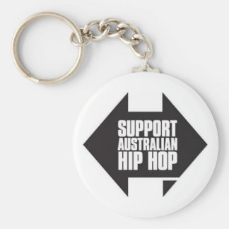 Support Australian Hip Hop Key Ring