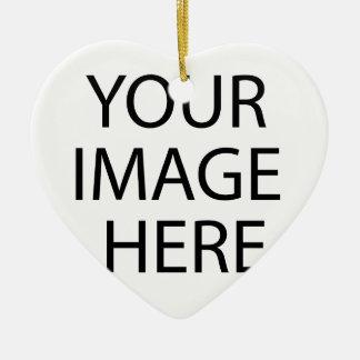 Support Autism Awareness Ceramic Heart Ornament