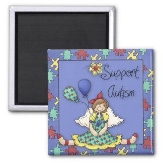 Support Autism Fridge Magnet