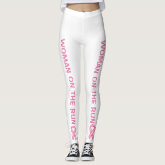 Support Breast Cancer Run Leggings