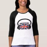 Support British Music T Shirts
