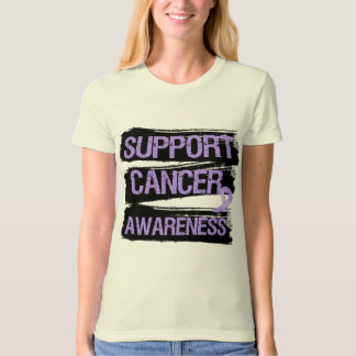 Support Cancer Awareness Grunge Tshirt