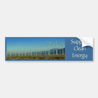 Support Clean Energy Bumper Sticker