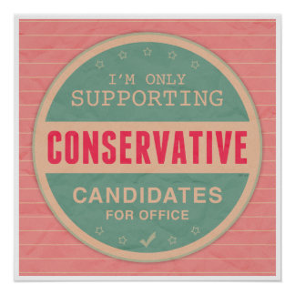 Support Conservatives Print