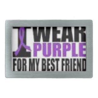 Support cystic fibrosis research belt buckles