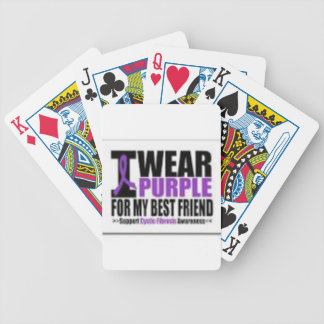 Support cystic fibrosis research poker deck