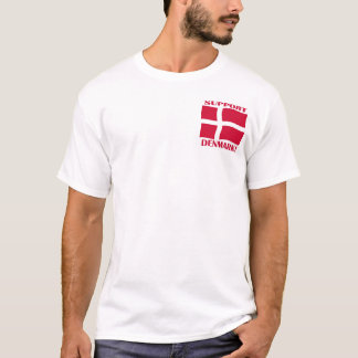 Support Denmark Flag Shirt