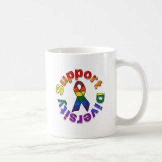 Support Diversity Classic White Coffee Mug