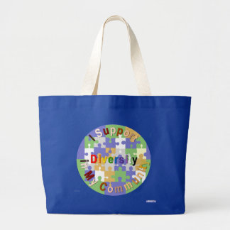 Support Diversity in My Community Bag