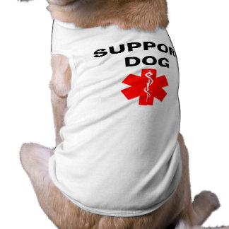Support Dog Medical Alert Symbol Dog Tank Top Tee