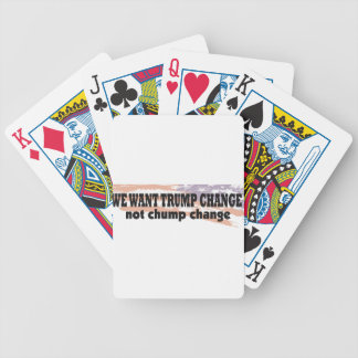 Support Donald Trump With This Great Product Bicycle Playing Cards