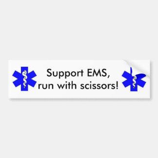 Support EMS Bumper Sticker