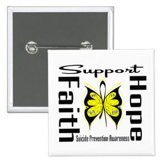 Support Faith Hope Suicide Prevention Awareness Pin