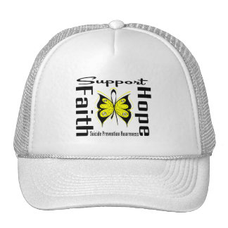 Support Faith Hope Suicide Prevention Awareness Trucker Hat