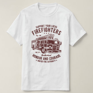 Support Firefighters T-Shirt