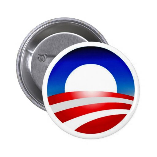 SUPPORT FOR  BARACK OBAMA CAMPAIGN BUTTON