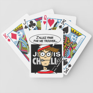 Support for Charlie Bicycle Playing Cards