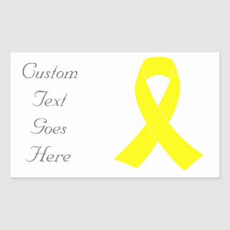 Support for Military Forces - Yellow Ribbon