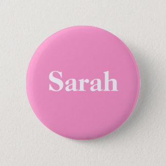 Support for Sarah Palin Simply Stated 2 Inch Round Button