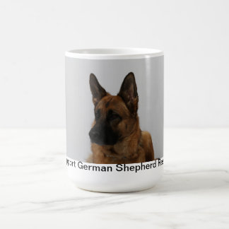 Support German Shepherd Rescues Basic White Mug