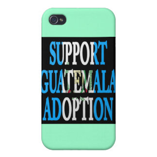 support guatemala adoption case for iPhone 4
