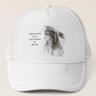 SUPPORT HAT WHT/WHT #1