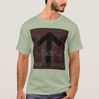 Support Heathen Declaration 127 T-Shirt