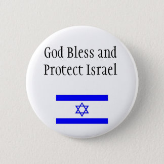 Support Israel Button/Pin 2 Inch Round Button