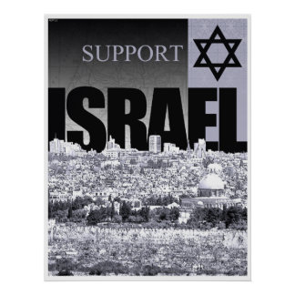 Support Israel Poster