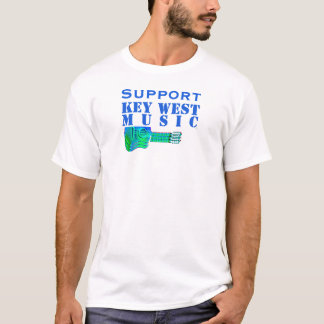 Support Key West Music and Island Awareness Custom T-Shirt