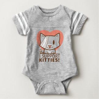 Support Kitty Baby Bodysuit