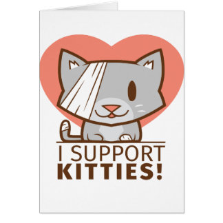 Support Kitty Card