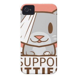 Support Kitty iPhone 4 Case