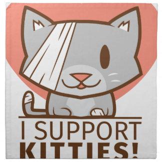 Support Kitty Napkin
