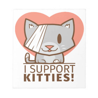 Support Kitty Notepad