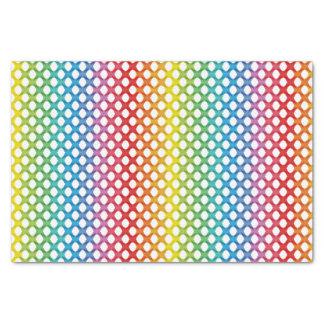 Support LGBT Gay Lesbian Rainbow Tissue Paper