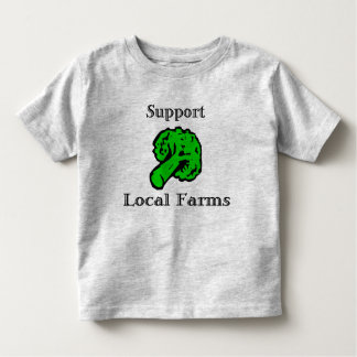 Support Local Farms Broccoli T-Shirt
