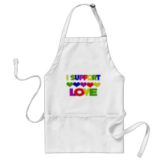 Support Love Apron