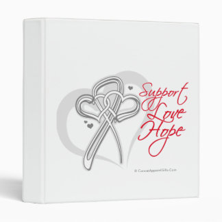Support Love Hope - Lung Cancer Binders