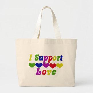Support Love Jumbo Tote Bag