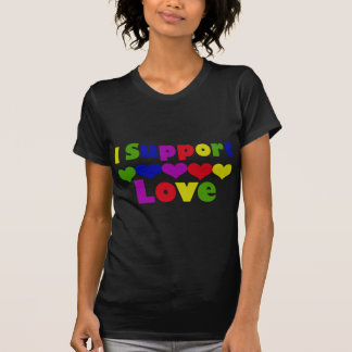 Support Love T-shirts