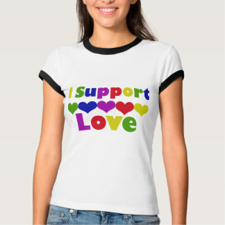 Support Love Tshirts