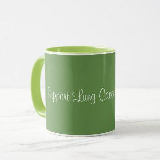 Support Lung Cancer Awareness - Coffee Mug