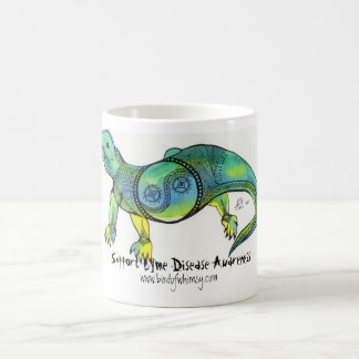 Support Lyme Disease Awareness Lizard King Mug