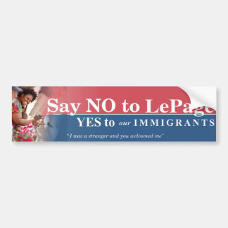 Support Maine's Immigrants Bumper Stickers
