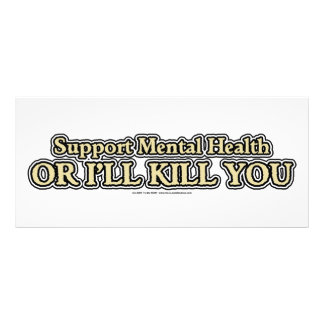 Support Mental Health Rack Card
