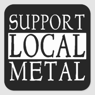 Support Metal Sticker