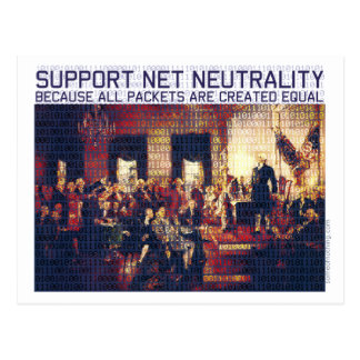 Support Net Neutrality Postcard