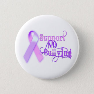 Support No Bullying 2 Inch Round Button