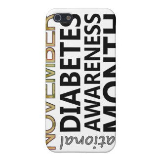 Support November National Diabetes Awareness Month iPhone 5 Cases